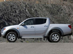mitsubishi l200 размер шин
